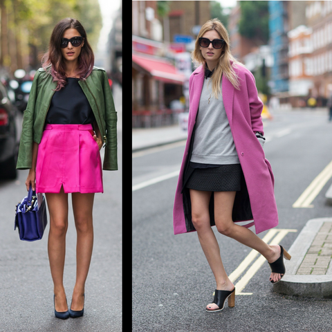 Wear pink with neutrals how to wear pink