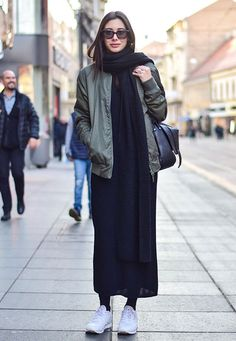 how to style a maxi for fall