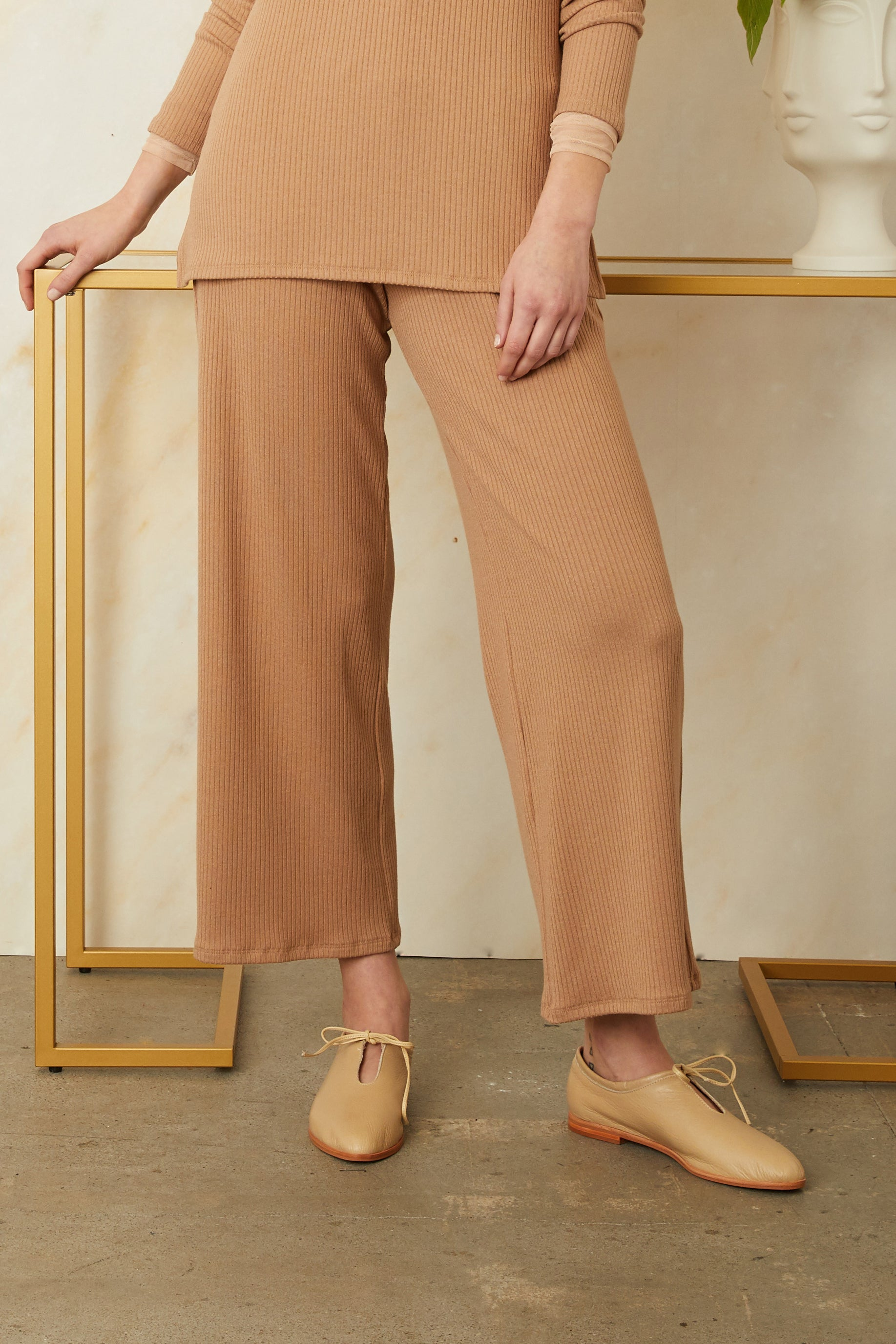 Ribbed Amelie Pants