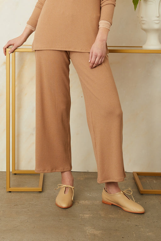 Ribbed Amelie Pants - Sarah Liller San Francisco