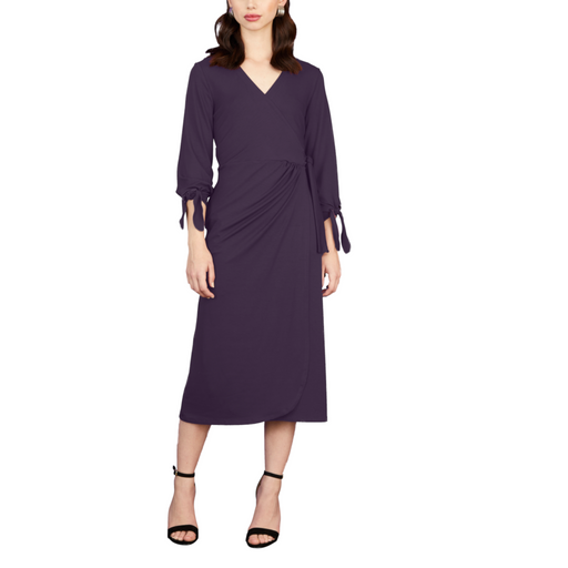 Camille Wrap Dress - Sarah Liller San Francisco