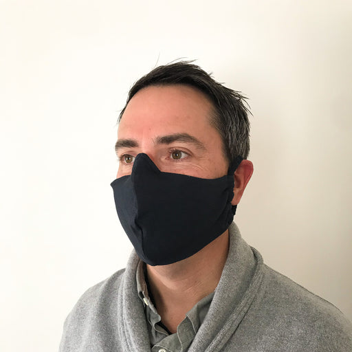 Solid Rayon/Lycra Face Masks