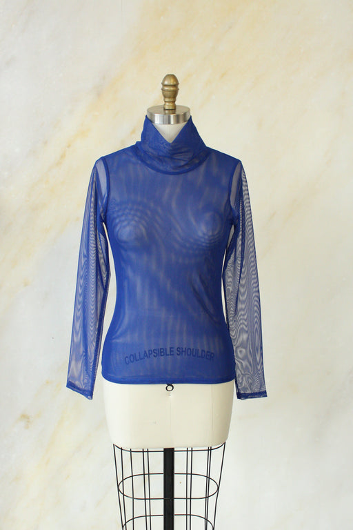 Joni Mesh Turtleneck