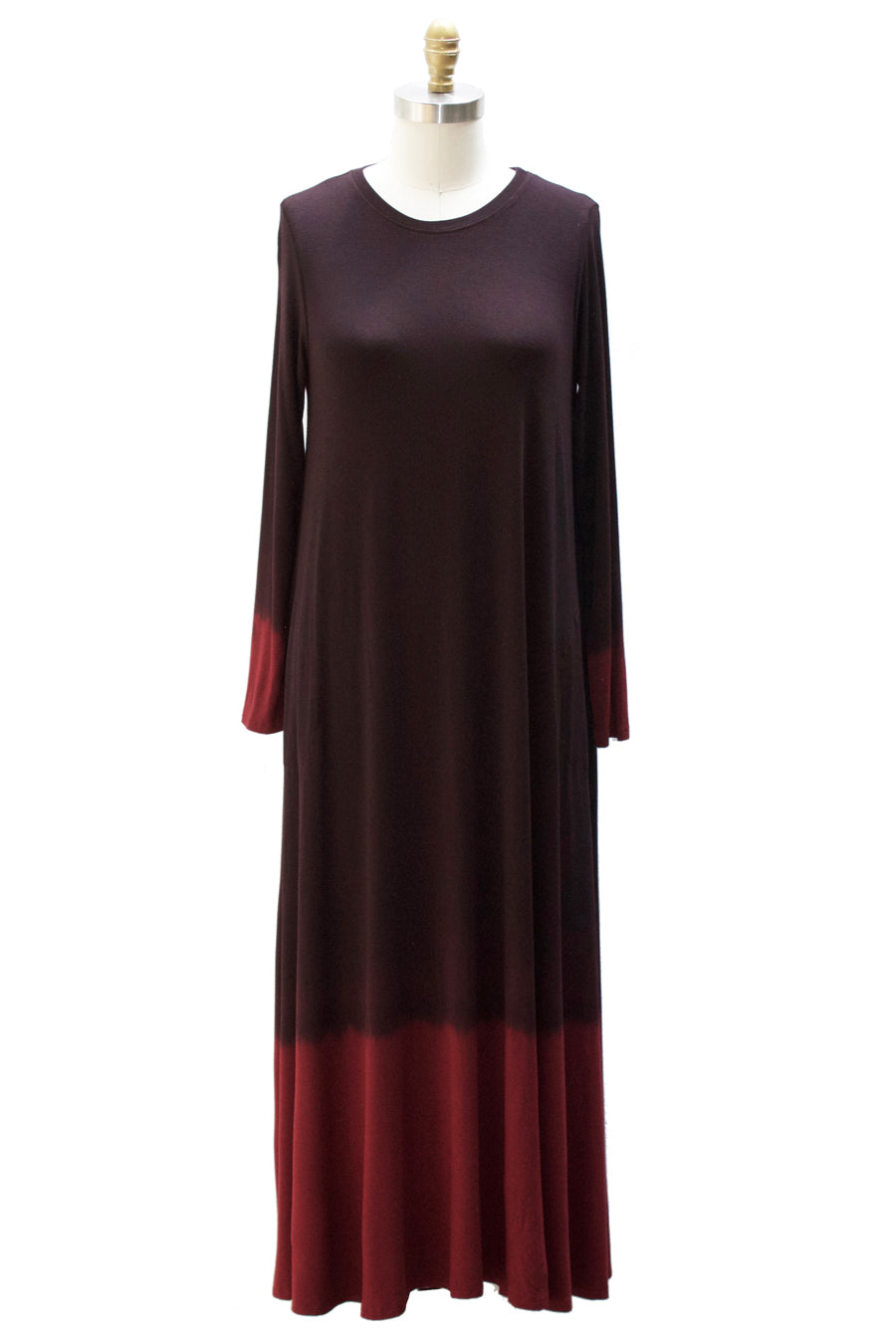 Dip Dye Capsule - Long Sleeve Maxi With Pockets - Sale