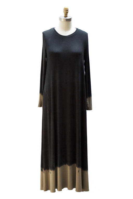 Dip Dye Capsule - Long Sleeve Maxi With Pockets