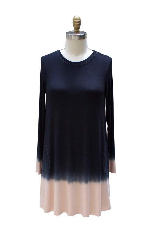 Dip Dye Capsule - Katie Dress - Sarah Liller San Francisco