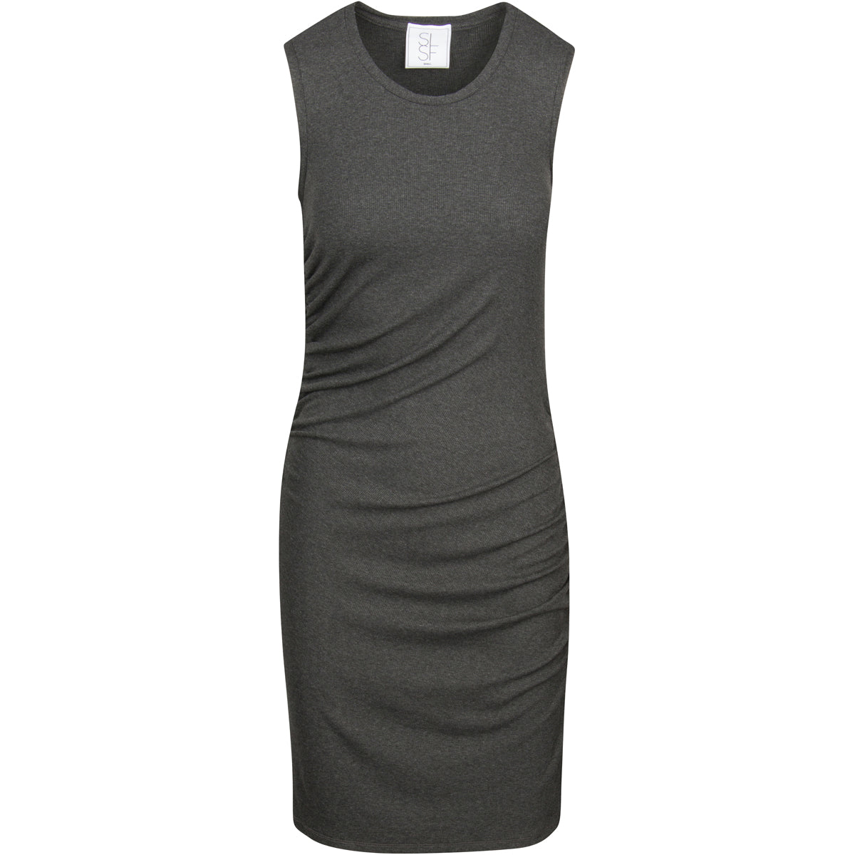 Ribbed Veronica Dress