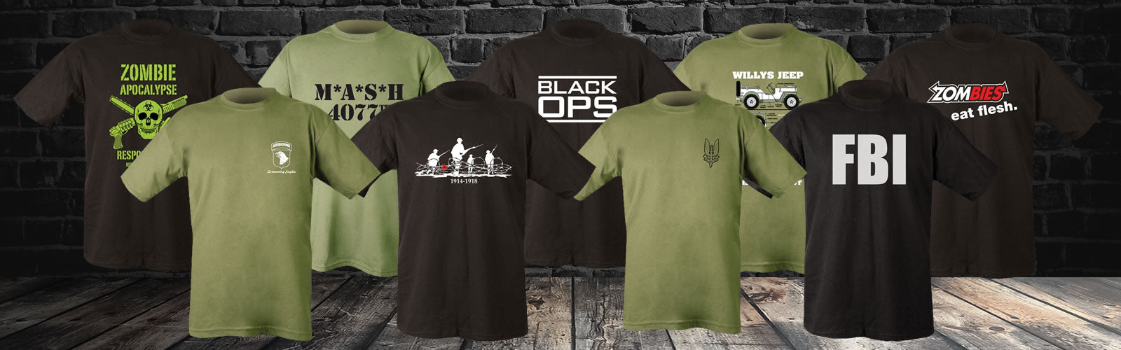 Military T-shirts