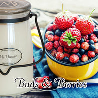 Buds & Berries 22oz Butter Jar Candle