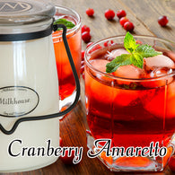 Cranberry Amaretto 22oz Butter Jar Candle