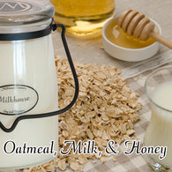Oatmeal, Milk, & Honey 22oz Butter Jar Candle