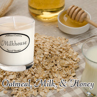 Oatmeal, Milk, & Honey Buttershot Candle