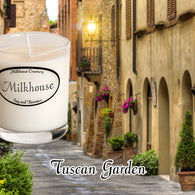 Tuscan Garden Buttershot Candle