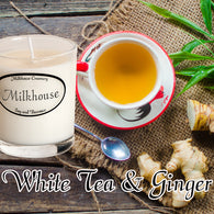 White Tea & Ginger Buttershot Candle