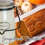 Gingerbread Pumpkin 22oz Butter Jar Candle