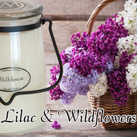 Lilac & Wildflowers 22oz Butter Jar Candle