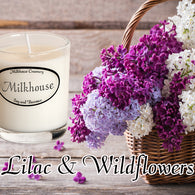 Lilac & Wildflowers Buttershot Candle