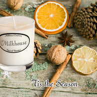 Tis the Season Buttershot Candle