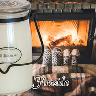Fireside 22oz Butter Jar Candle