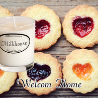 Welcome Home Buttershot Candle