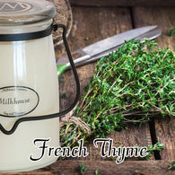 French Thyme 22oz Butter Jar Candle
