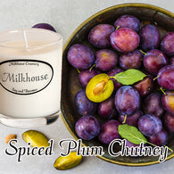 Spiced Plum Chutney Buttershot Candle