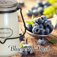 Blueberry Basil 22oz Butter Jar Candle