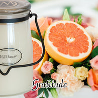 Gratitude 22oz Butter Jar Candle