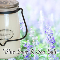Blue Sage & Sea Salt 22oz Butter Jar Candle