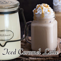 Iced Caramel Latte 22oz Butter Jar Candle