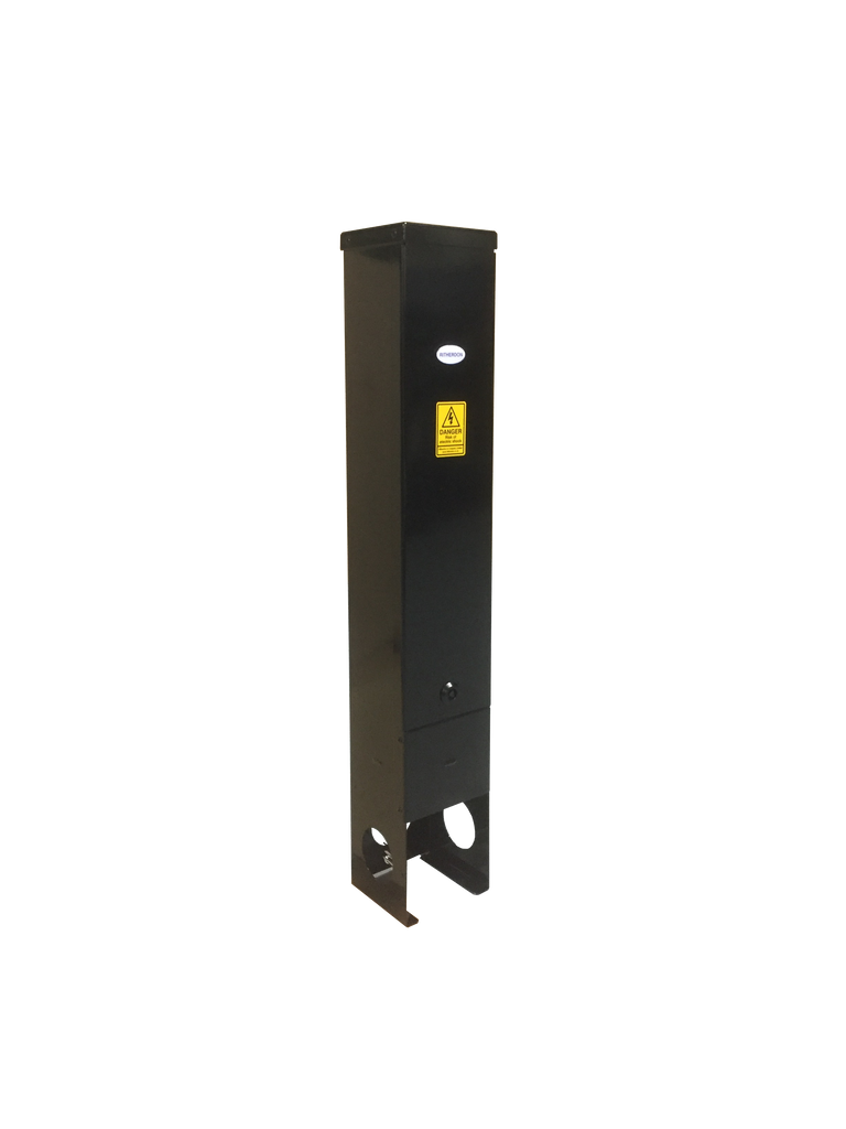 R150 Feeder Pillar in Black is Available for 48 Hour Delivery
