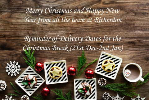 Christmas Break Delivery Dates