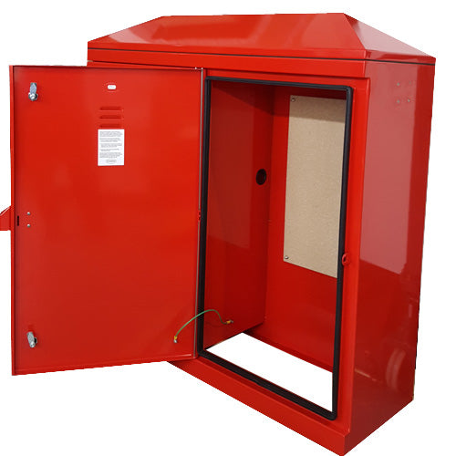 TBS60 Temporary Builders Supply Kiosk (Red)