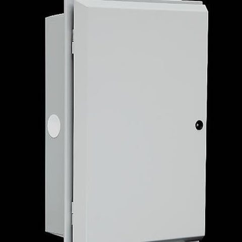 Fire resistant surface mounted meter box