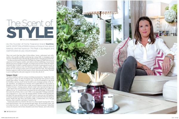 Kate Crofton-Atkins featured on Expat Living Hong Kong