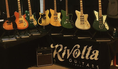 In Pictures: Rivolta Guitars at Summer NAMM Show 2019