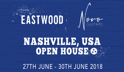 Eastwood Guitars Showroom Opens in Nashville, USA