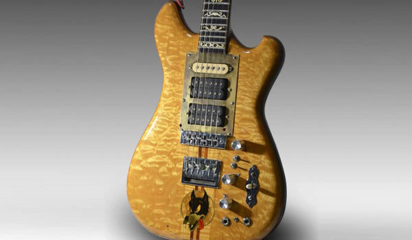 Coming Soon: Custom Shop Wolf Guitar Tribute