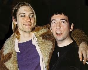 Kurt Cobain and Pete Shelley
