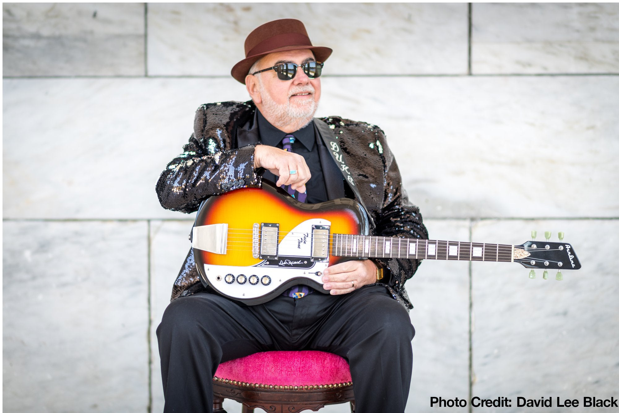 b0378085e3fc Duke Robillard is a true legend from the New England blues scene - and the  latest artist to get his own signature Eastwood guitar  the Airline Twin  Tone   ...