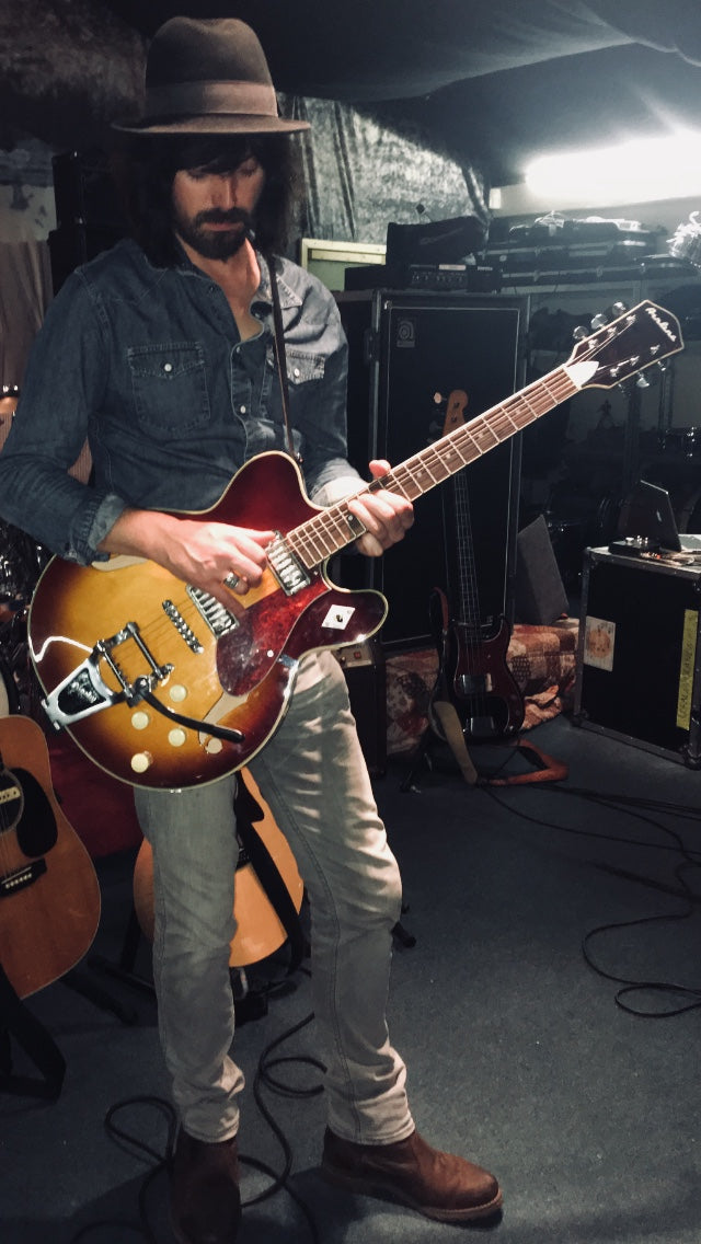 Paul Motlloy of The Coral and his Airline H74 DLX