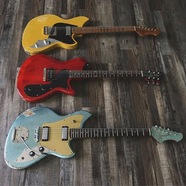 Novo and Rivolta guitars