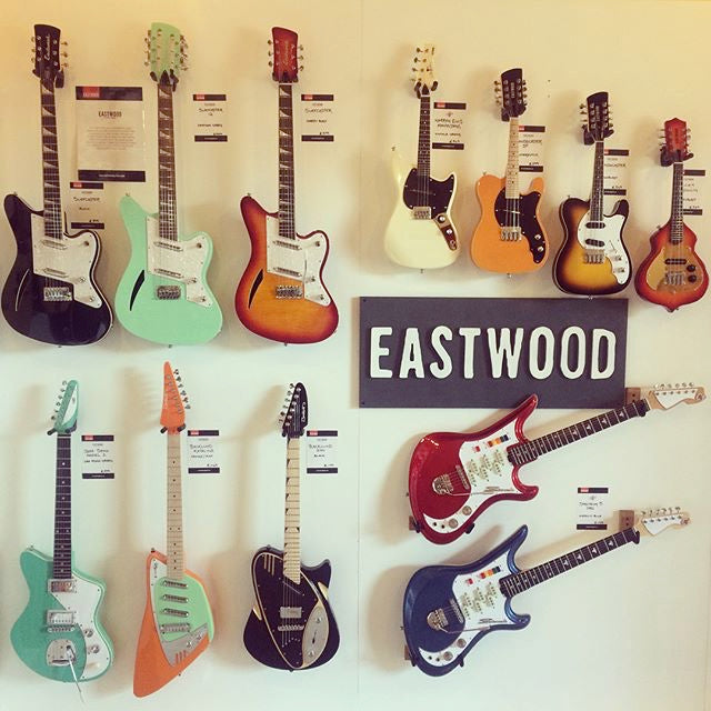 Eastwood guitar Popup Shop