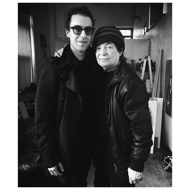 Jared Artaud and Alan Vega