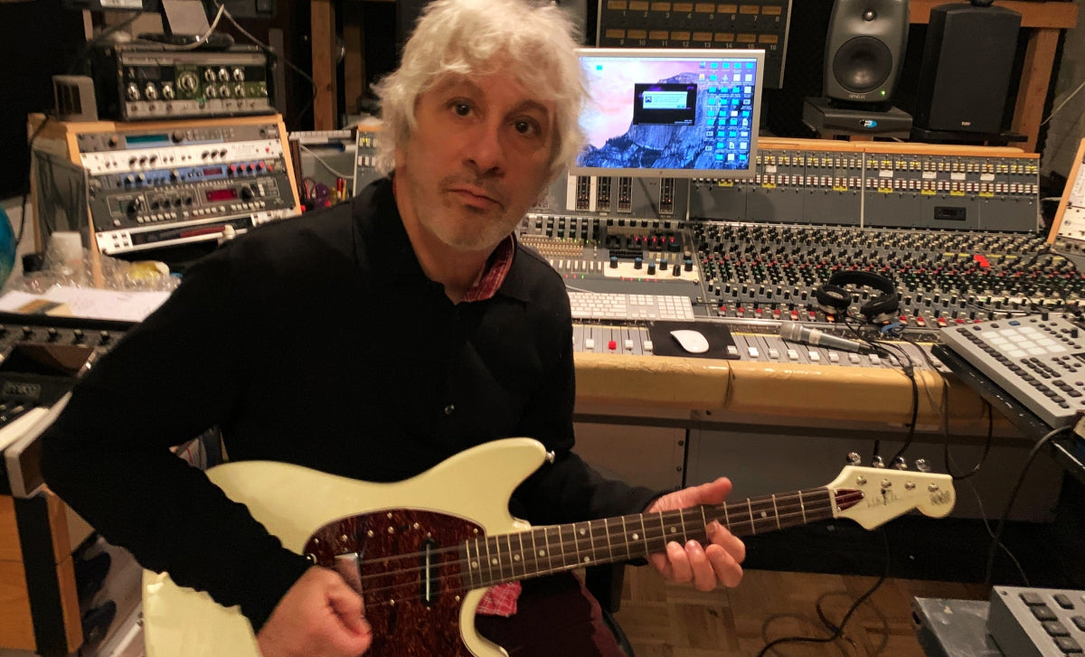 Lee Ranaldo and his Warren Ellis Tenor 2P