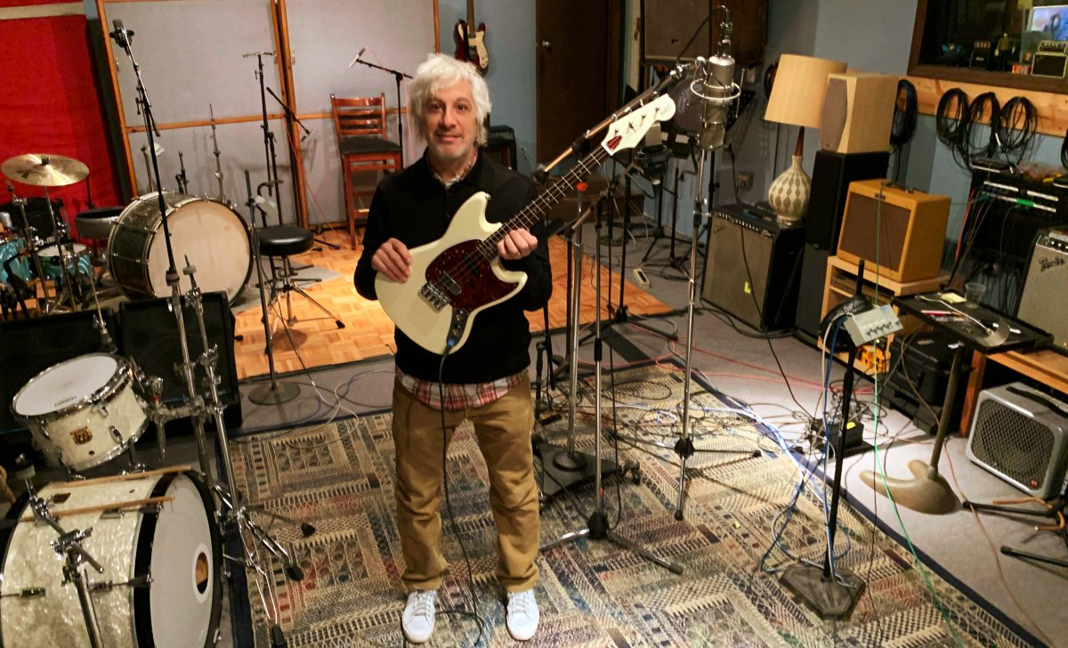 Lee Ranaldo and his Warren Ellis tenor
