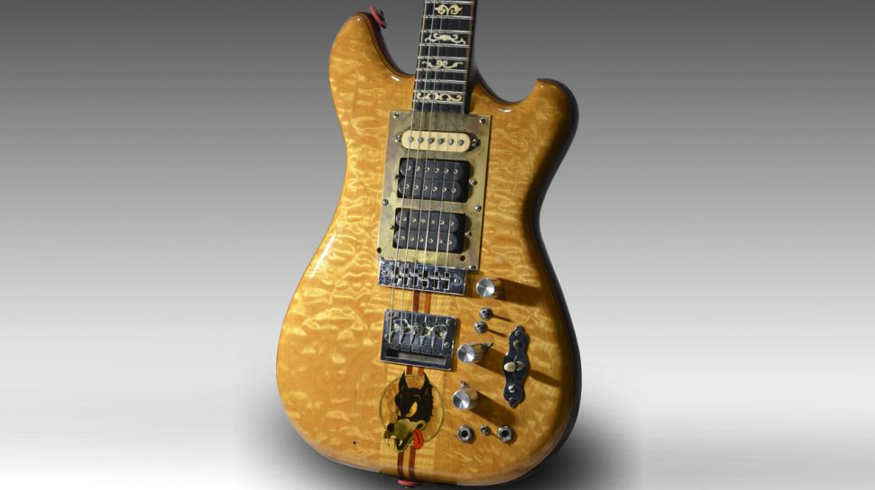 The original Jerry Garcia Wolf Guitar
