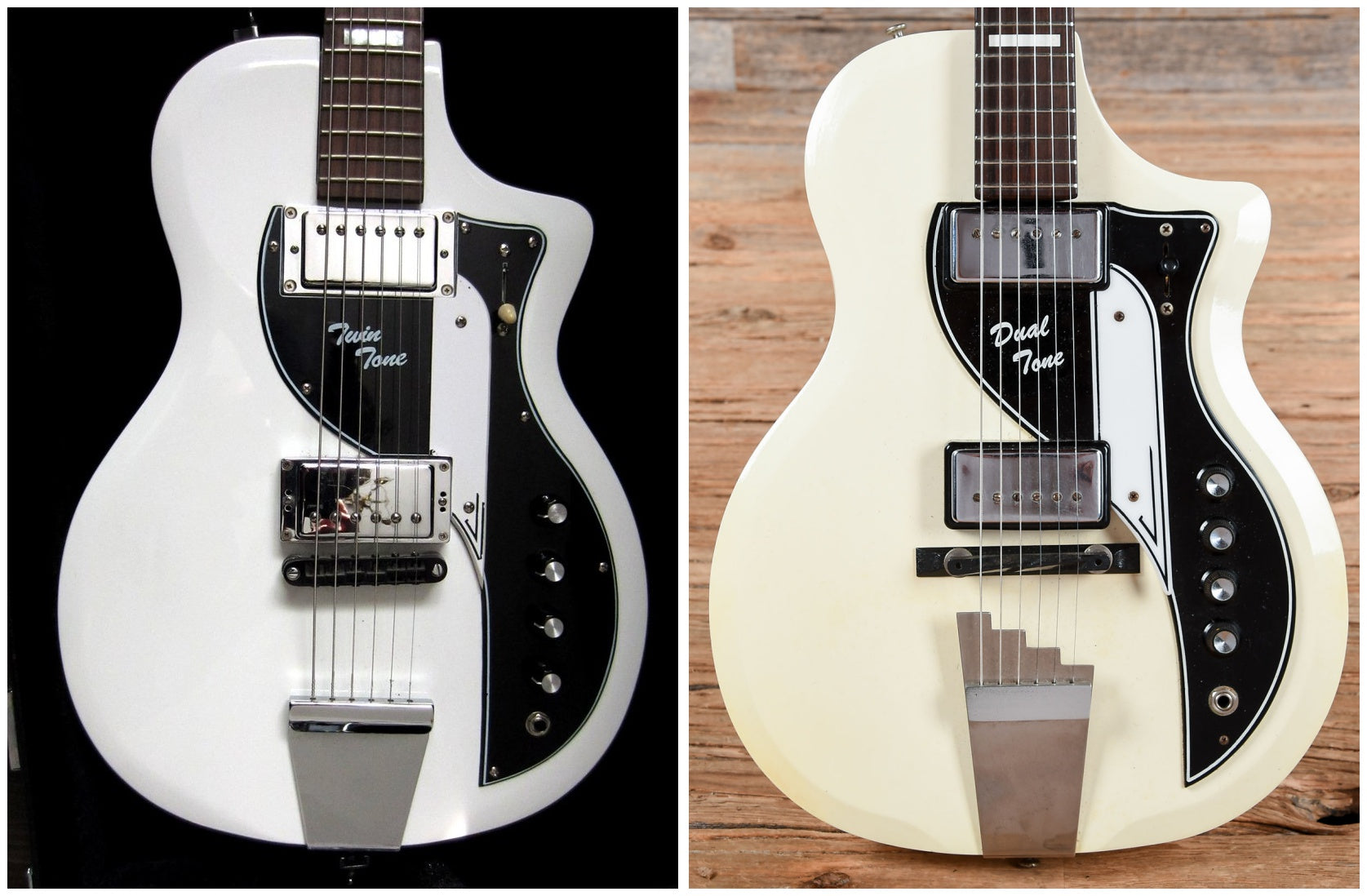 Airline Twin Tone and Supro Dual Tone