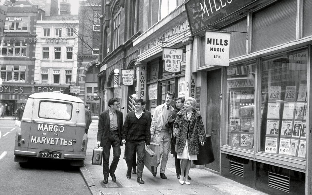 Denmark Street in the Sixties