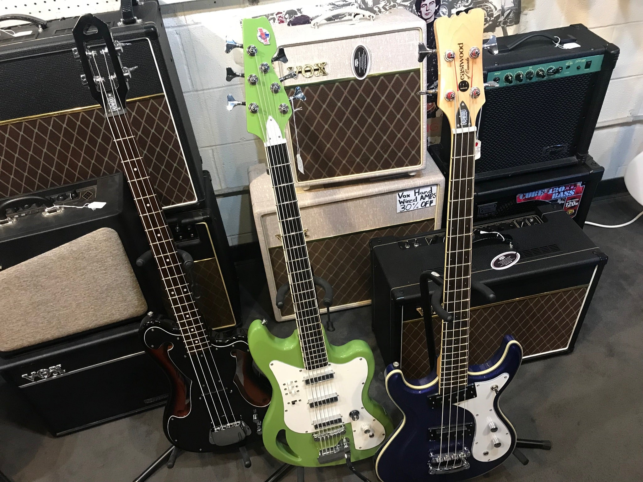 Eastwood Guitars at South Austin Music